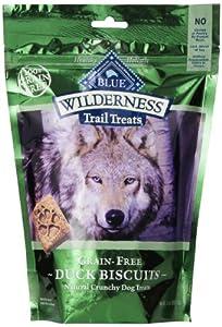 Blue Buffalo Wilderness Trail Treats Grain Free Duck Dog Biscuits, 10-Ounce
