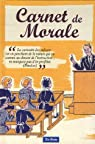 Carnet de Morale par Zierski