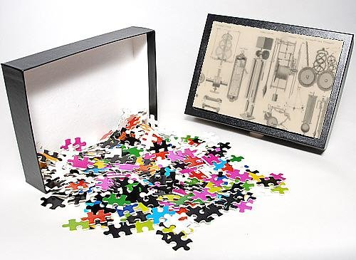 Photo Jigsaw Puzzle Of Clock Mechanisms