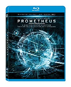 Prometheus - Collector's Edition [Blu-ray 3D + Blu-ray + DVD + Digital Copy] (Bilingual)