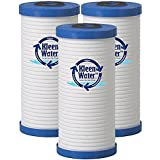 Aqua-Pure AP810, AP801 & Whirlpool WHKF-GD25BB Compatible Water Filter Replacement Cartridges, 4 1/2 X 9 7/8 Inch, 5 Micron - by KleenWater (3)