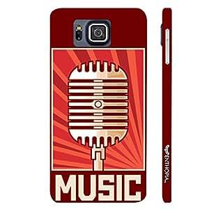 Samsung Alpha G850F Radio Station designer mobile hard shell case by Enthopia