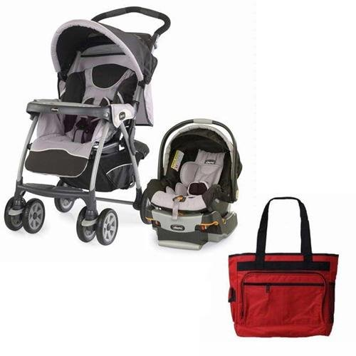 chicco cortina keyfit 30 travel system with free fashionable diaper bag romantic stroller travel. Black Bedroom Furniture Sets. Home Design Ideas