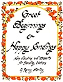 img - for Great Beginnings and Happy Endings: Hors D'Oeuvres and Desserts for Standing Ovations book / textbook / text book