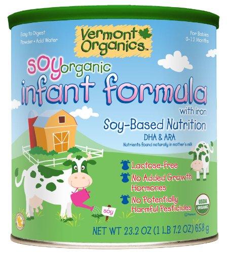 Imagen de Vermont Organics DHA a base de soja Fórmula Camiseta - 4 pk