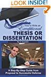 How to Write an Exceptional Thesis or...