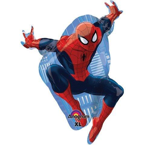 """Ultimate Spiderman Marvel Super Hero Shape 29"""" Mylar Foil Balloon - 1"""