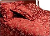 Divatex Toscana Jacquard Queen Comforter Set, Red