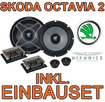 Skoda octavia 2 haut-parleurs hifonics zeus zSi 6.2c komposystem - 16 cm