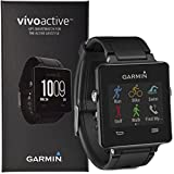 Garmin Vivoactive Triathlon GPS Swim Bike Run Golf Sports Smart Watch - Black
