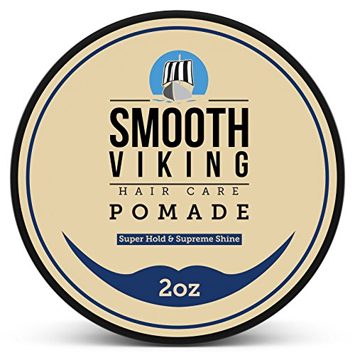 Strong Hold Pomade for Men - Best Hair Styling Formula for Maximum...