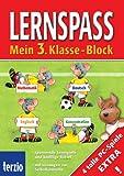 Lernspass 3 - Klasse-Block: Mathematik, Deutsch, Englisch, Konzentration - Sonja Reichert