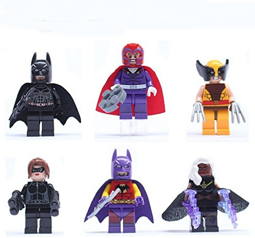 SEOWTOYS® 6 PCS New Brand 2016 Minifigures X-Men Wolverine Toys For Children's Gifts (Psylocke Marvel Universe compare prices)