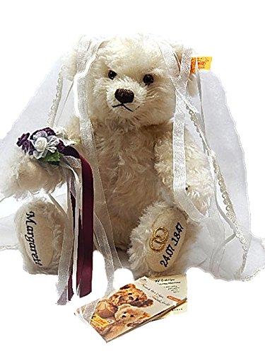 Steiff 662812 Teddybär Braut Margarete 24.07.1847,