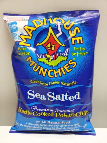 Madhouse Munchies Sea Salt Potato Chip 12 5 OzB0000SW028