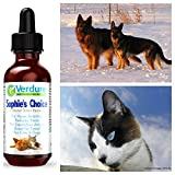 All Natural Pet Stress Relief Formula - 100% Safe, Natural Stress Relief for Pets Sensitive to Noise, Separation Anxiety, Excellent for Travel. Money Back Guarantee. Made in the USA.