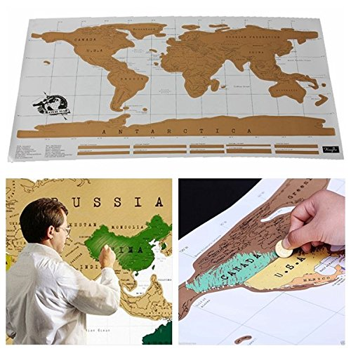 World Scratch Wall Map Poster In Tube / : . We all love to hold on to our memories of the places we have traveled to. Whether through photos, writings or even our social media postings, the places (Red Hood Poster Dc compare prices)