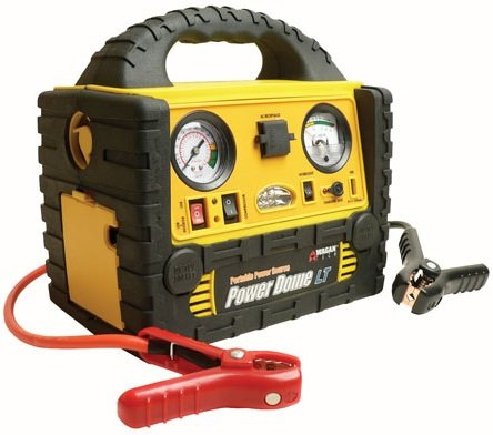 Stanley 450 Amp Jump Starter With Compressor Automotive Battery