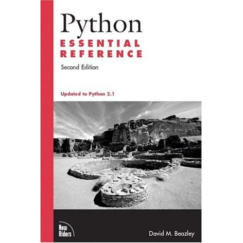 Python Essential Reference (2nd Edition)