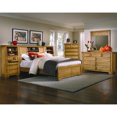 Furniture bedroom furniture bed oak bed wood set for American empire bedroom furniture
