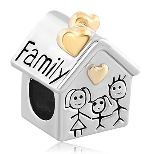 fit-pandora-charms-silver-plated-family-heart-love-house-beads