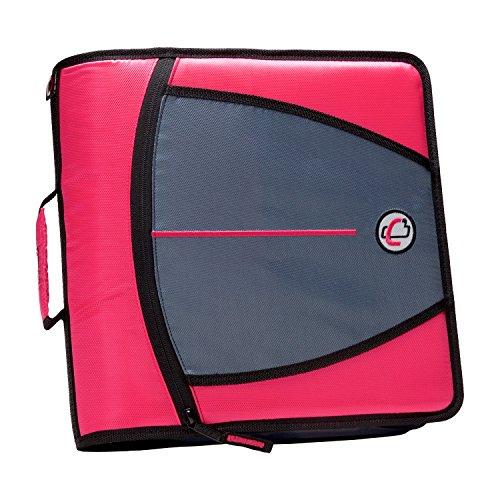 case-it-mighty-zip-tab-3-inch-zipper-binder-neon-pink-d-146-neopnk