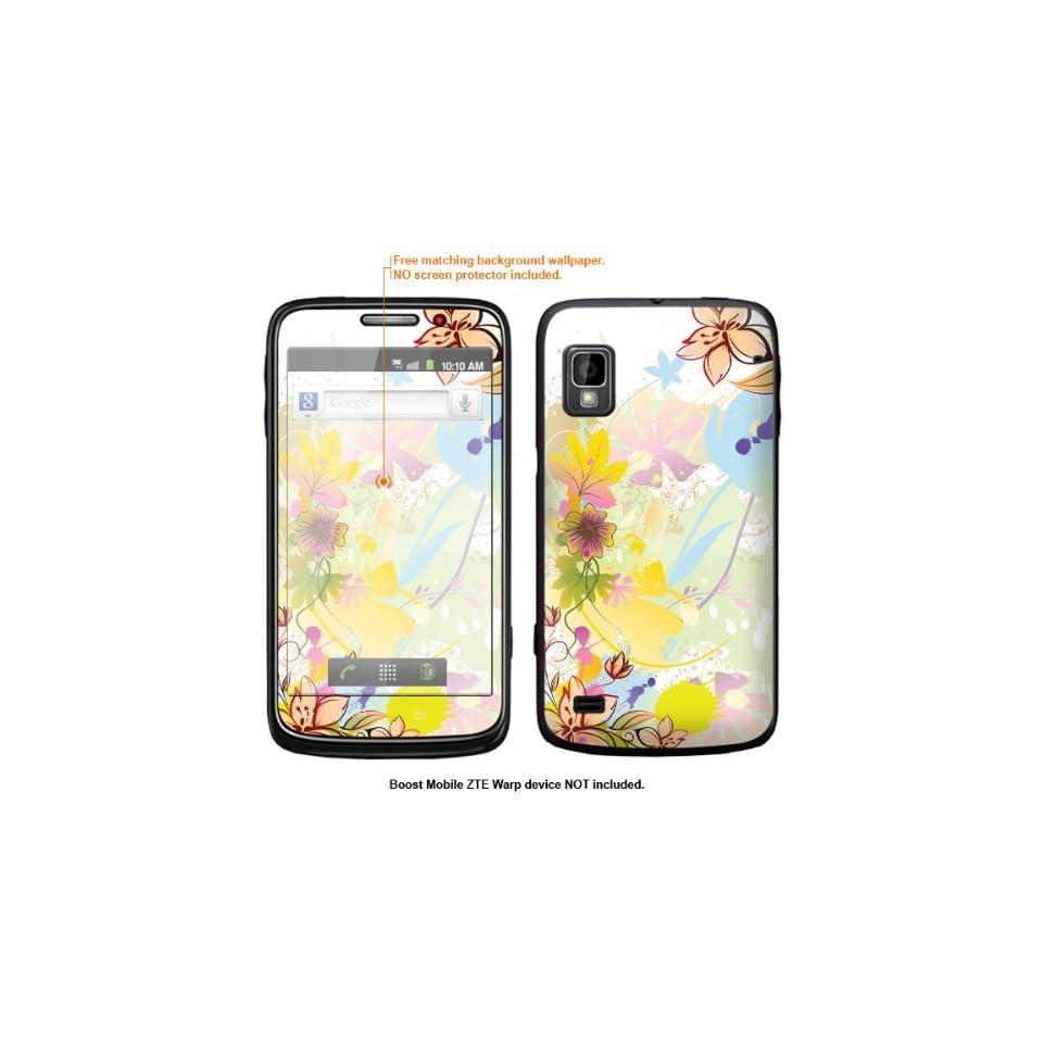 Protective Decal Skin Sticker for ZTE Warp  Boost Mobile version  case cover ZTEwarp 359