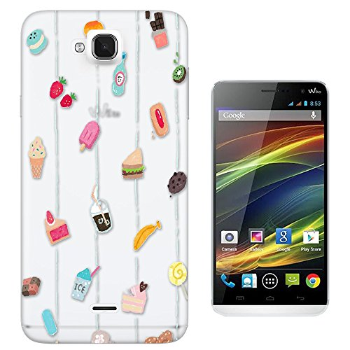 c01354 - Banana Strawberry Cookie Chocolate Latte Kiwi Treats Design Wiko Slide Fashion Trend CASE Gel Rubber Silicone All Edges Protection Case Cover (Kiwi Slide compare prices)