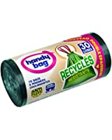 Handy Bag - 3557880400057 - Sacs Poubelle à Poignées Coulissantes Recycles - 30 L - 55 x 63 cm - Lot de 2