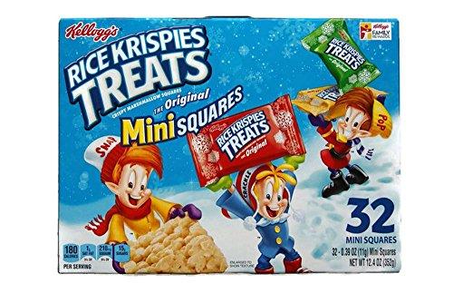 Kellogg's Rice Krispies Treats - The Original Mini Squares - 12.4 Oz (Rice Squares compare prices)