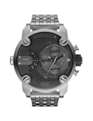Diesel #DZ7259 Men's SBA Stainless Steel Dual Time Zone Chronograph Watch