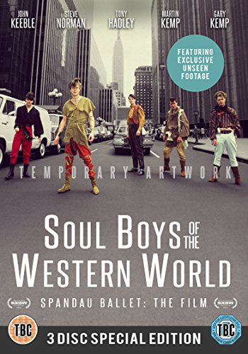 Spandau Ballet The Film: Soul Boys Of The Western World Limited Edition 3-Disc Boxset [DVD]