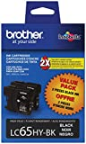 Brother LC65HYBK2 High-Yield