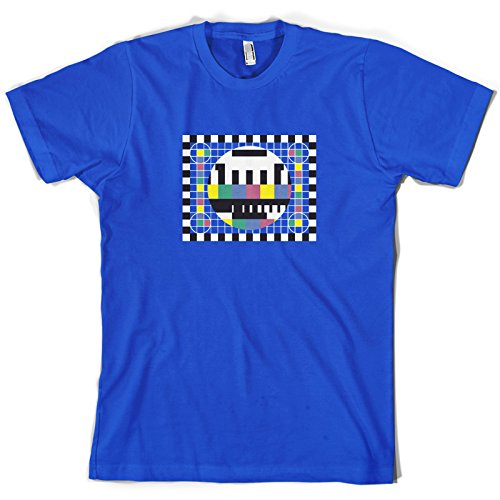 TV Test Card - Mens T-Shirt. 10 Colours. Sizes from S to XXL