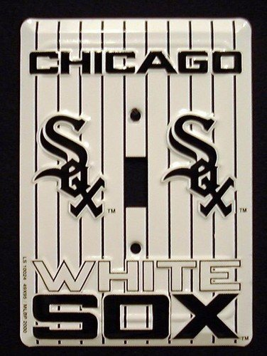 Prideplates Chicago White Sox Light Switch Cover (Single)