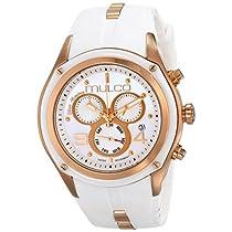 MULCO Unisex MW1-29902-013 Analog Display Swiss Quartz White Watch
