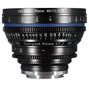 Zeiss Compact Prime CP.2 85mm/T2.1 Cine Lens -EF Mount