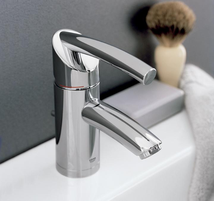 Grohe 32 924 en0 tenso single handle centerset lavatory faucet infinity brushed nickel touch - Grohe kitchen faucets amazon ...
