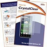 "2 x mumbi Displayschutzfolie LG P920 Optimus 3D Displayschutz ""CrystalClear"" unsichtbar"