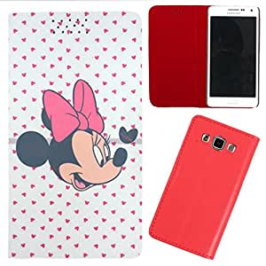 DooDa - For LG spirit PU Leather Designer Fashionable Fancy Flip Case Cover Pouch With Smooth Inner Velvet