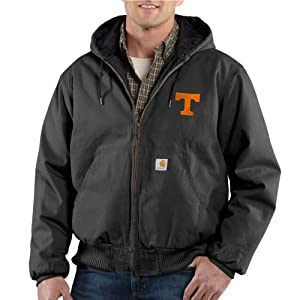 NCAA Tennessee Volunteers Mens Ripstop Active Jacket by Carhartt