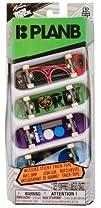 Plan B Tech Deck 4-Finger Skateboard Pack 20048072