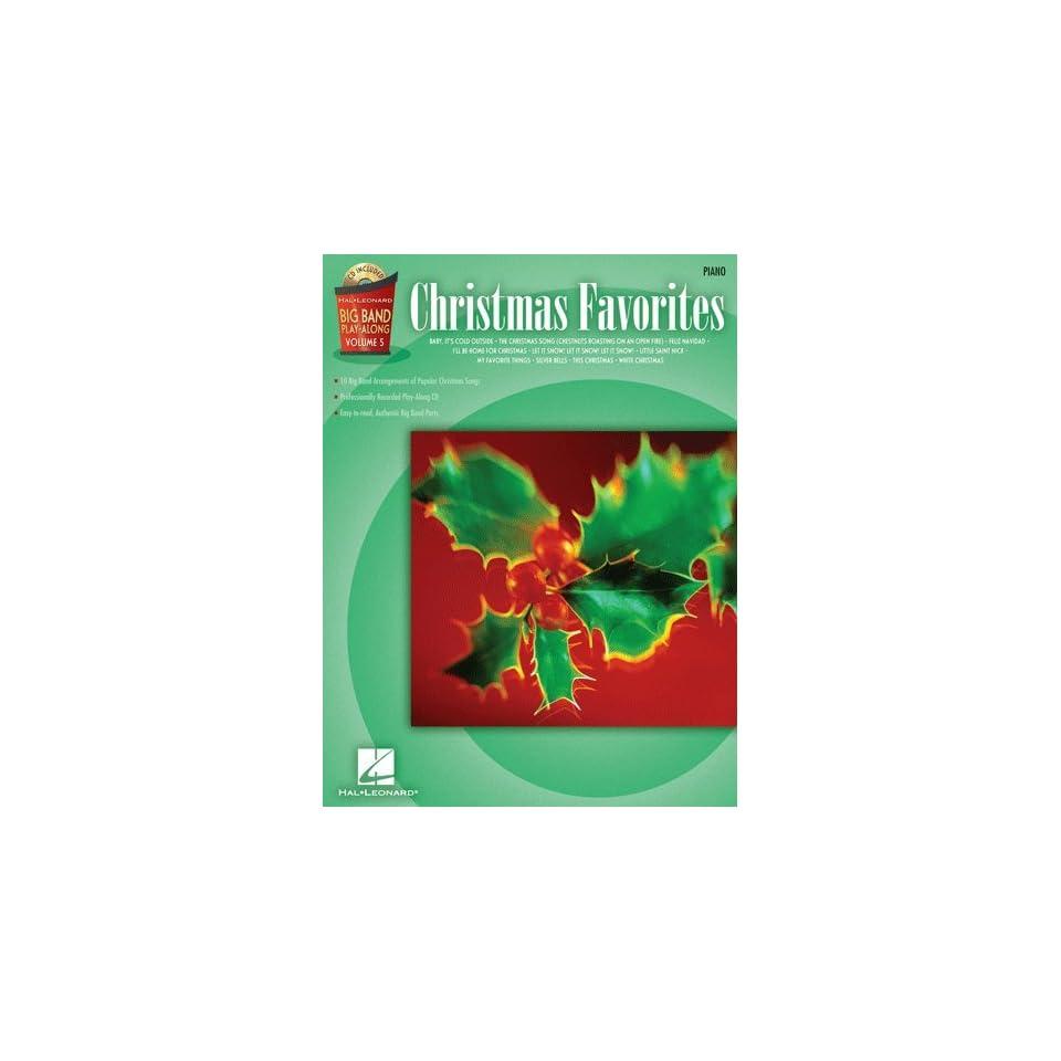 Christmas Favorites   Piano   Big Band Play Along Volume 5   Bk+CD