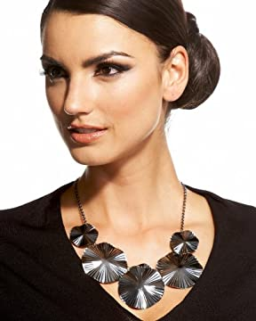 bebe.com : Layered Disc Necklace