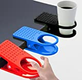 5pcs High Quality Home Office Drink Coffee Cup Holder Cradle Clip Desk