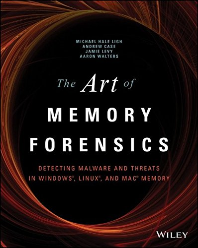 The Art of Memory Forensics: Detecting Malware and Threats in Windows, Linux, and Mac Memory, by Michael Hale Ligh, Andrew Case, Jamie Lev