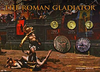 (DM 228) The Roman Gladiator 5x7