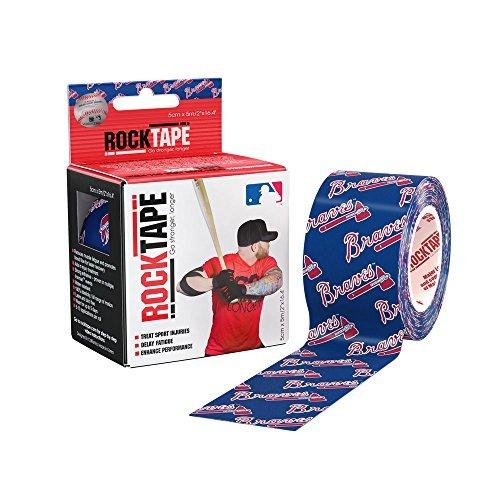 rocktape-major-league-baseball-kinesiology-tape-for-athletes-2-inch-x-164-feet-atlanta-braves