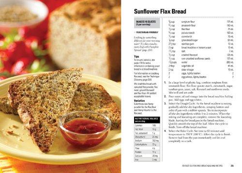 Free breadmachine recipes