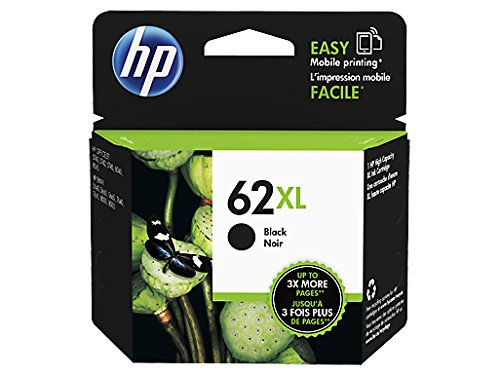 HP 62XL High Yield Black Original Ink Cartridge (C6578E)